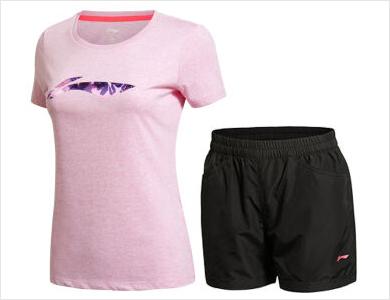 夏季新款女套装训练系列女装运动短裤