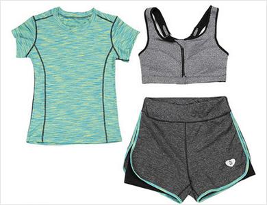 夏季瑜伽健服身服女速干服跑步运动