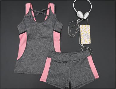 珈柔瑜伽服健身服套装女训练装晨跑锻炼服